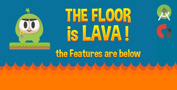 The Floor is Lava! (Admob, Leaderboard & More) - CodeCanyon Item for Sale