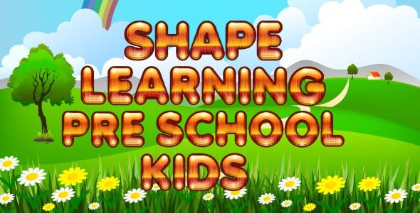 Shapes Learning PreSchool Kids - iOS & Android