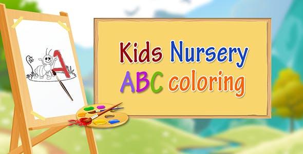 Kids Nursery ABCD Color Book - IOS - Android