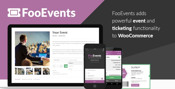 FooEvents for WooCommerce        Nulled