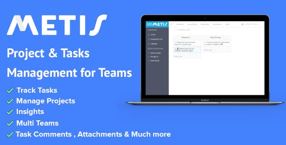 Metis - Tasks and Projects Management Platform