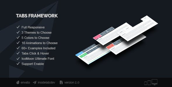 Tabs Framework