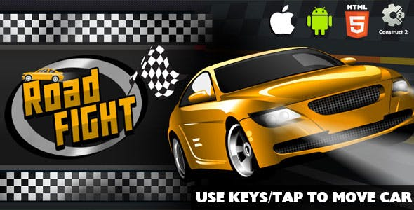 Road Fight - HTML5 Game (CAPX)