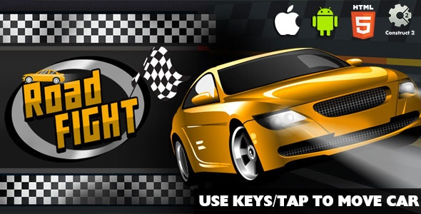 Road Fight - HTML5 Game (CAPX) - CodeCanyon Item for Sale
