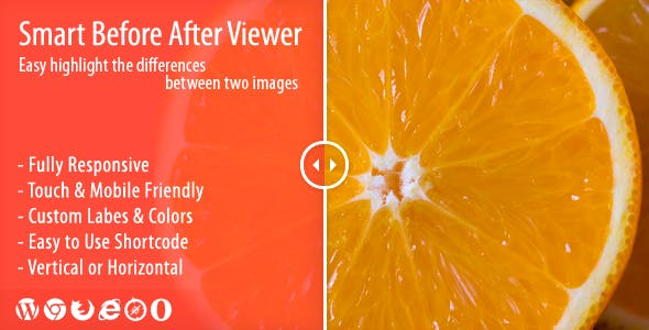 Smart Before After Viewer - Responsive Image Comparison Plugin        Nulled
