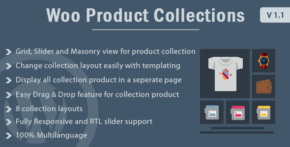 Woo Product Collections - WordPress Plugin - CodeCanyon Item for Sale