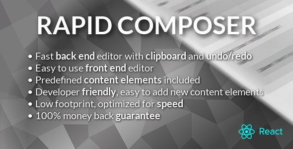 Rapid Composer - WordPress Page Builder - CodeCanyon Item for Sale