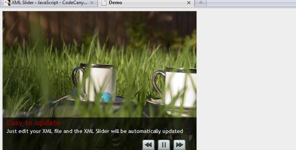 XML Slider - CodeCanyon Item for Sale