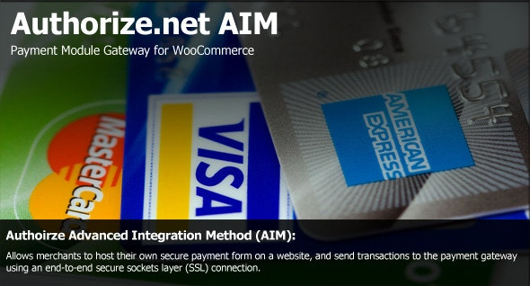 Authorize.net AIM Payment Module for WooCommerce - CodeCanyon Item for Sale