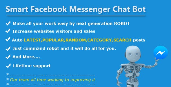 Smart Facebook Messenger Chat Bot