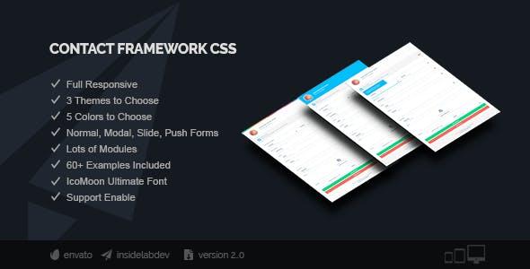 Contact Framework CSS