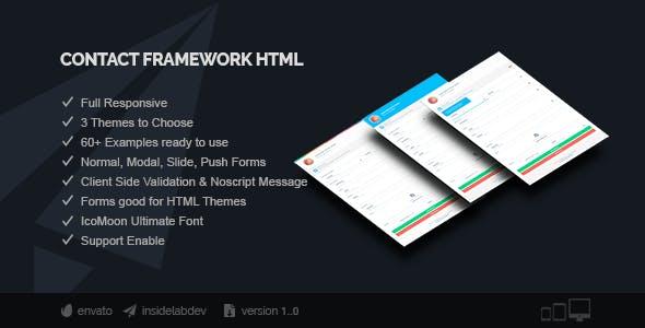 Contact Framework HTML