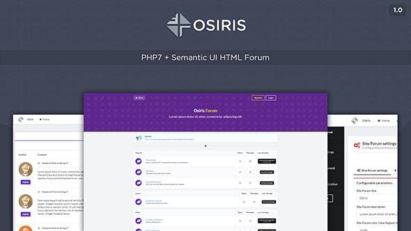 Osiris - Semantic Forum - CodeCanyon Item for Sale