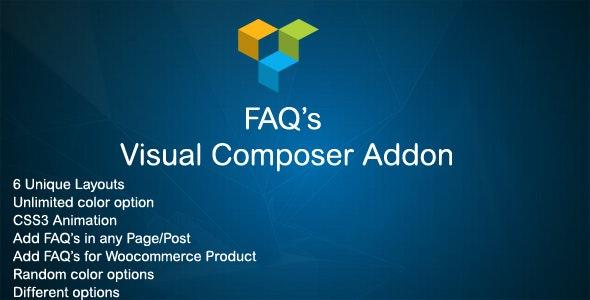 JAG Visual Composer FAQ Addon - CodeCanyon Item for Sale