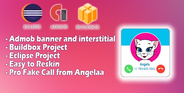 Fake Call from Talking Angelaa - CodeCanyon Item for Sale