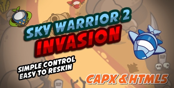 Sky Warrior 2 Invasion - CodeCanyon Item for Sale