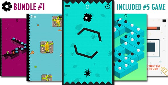 5 Construct Game Bundle 1
