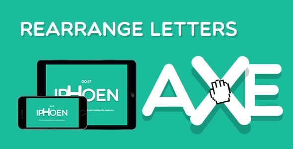 Rearrange Letters - HTML5 Game - CodeCanyon Item for Sale