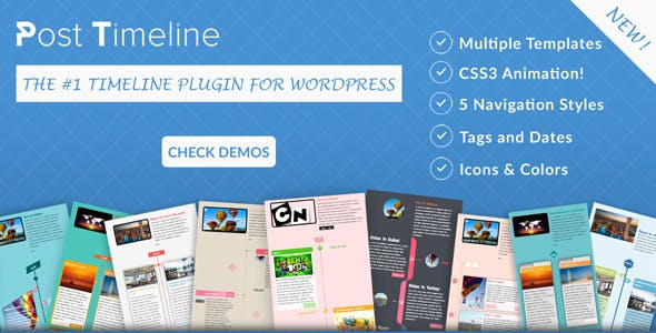 Post Timeline WordPress Plugin