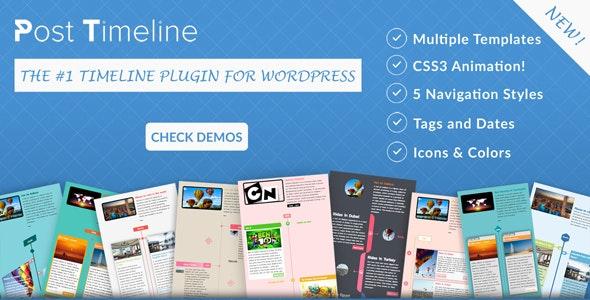 Post Timeline WordPress Plugin - CodeCanyon Item for Sale