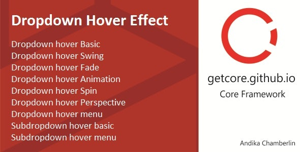 Dropdown Effect - CodeCanyon Item for Sale