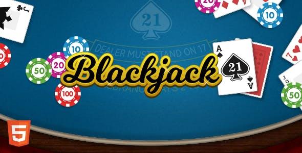 BLACKJACK 21 - HTML5 Casino Game