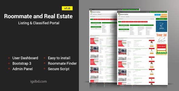 Real Estate Directory PHP Script from CodeCanyon