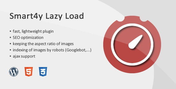 Smart4y Lazy Load - Image, Iframe Wordpress Plugin - CodeCanyon Item for Sale