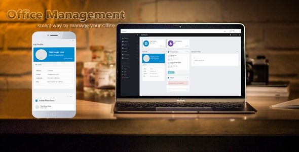 Office Management - CodeCanyon Item for Sale