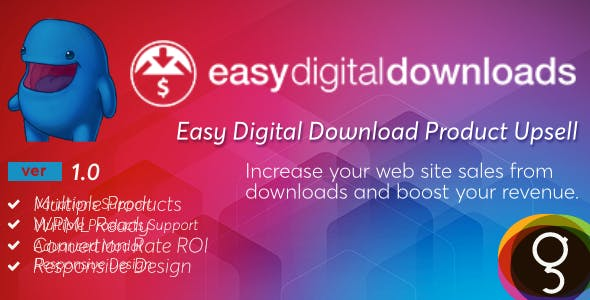 Easy Digital Downloads Product Upsells