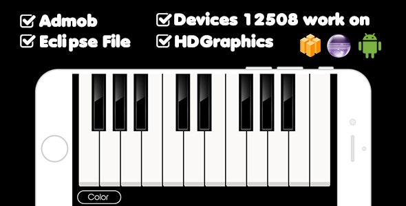 PERFECT PIANO WITH ADMOB - BUILDBOX & ECLIPSE PROJECT - CodeCanyon Item for Sale