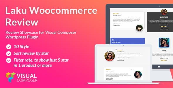 Laku Woocommerce Review – Visual Composer addon
