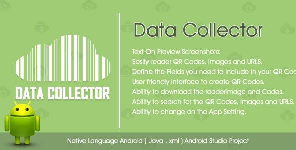 QR Code, Barcode Reader & Data Collector