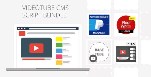 VideoTube CMS Script Pack