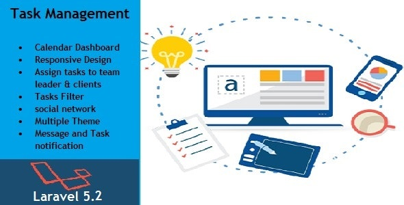 Task Management System - CodeCanyon Item for Sale