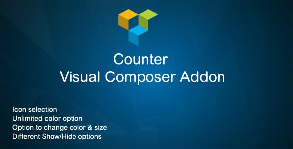Counter Visual Composer Addon
