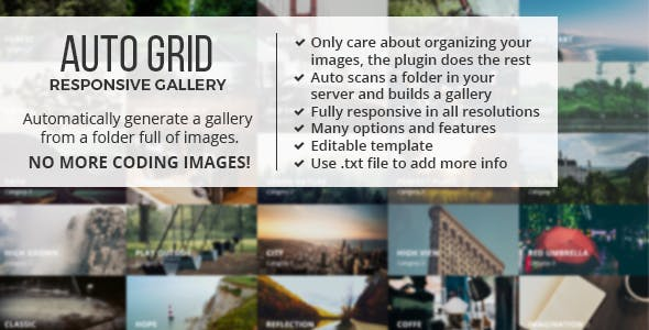 Auto Grid Responsive Gallery        Nulled