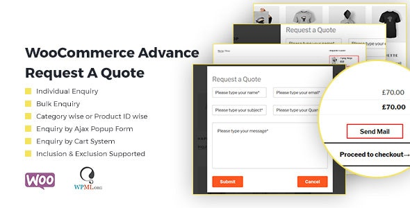 WooCommerce Advance Request A Quote | Product Enquiry by
