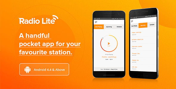 Radio Lite - Single Radio Streaming App
