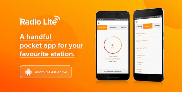 Radio Lite - Single Radio Streaming App - CodeCanyon Item for Sale