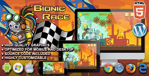 Bionic Race - HTML5 Running Game