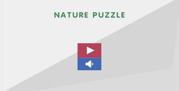 Nature Puzzle - CodeCanyon Item for Sale