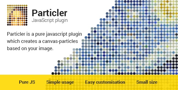 Particler JavaScript Plugin v2.0 - CodeCanyon Item for Sale