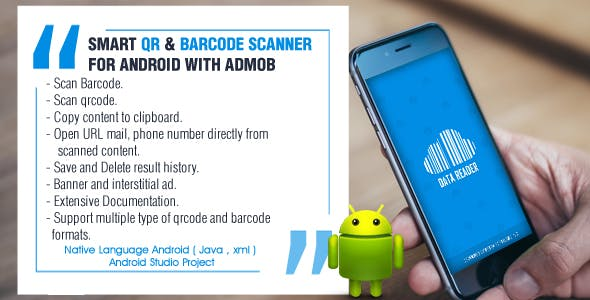 Smart QR and Barcode Scanner for Android
