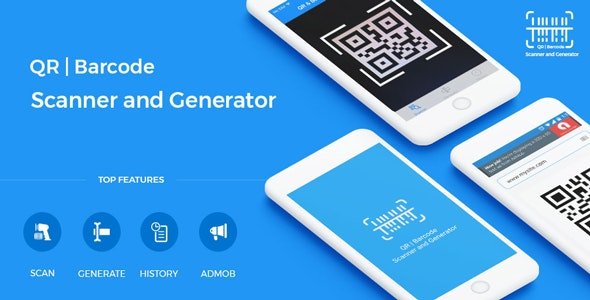 QR Code & Barcode Scanner and Generator for iOS Swift with AdMob - CodeCanyon Item for Sale