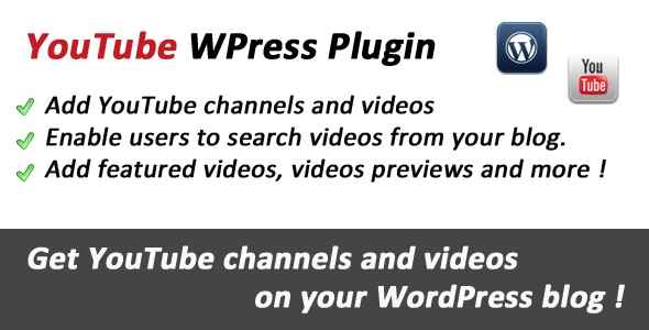 YouTube Videos for WordPress - CodeCanyon Item for Sale