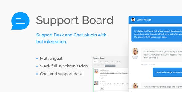 Support Board - Chat And Help Desk | Bot & Chat