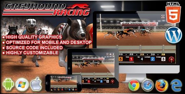 Greyhound Racing - HTML5 Casino Game