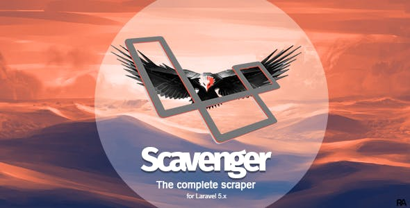 Scavenger - Laravel Web Scraper Package