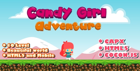 Candy Girl Adventure - CodeCanyon Item for Sale